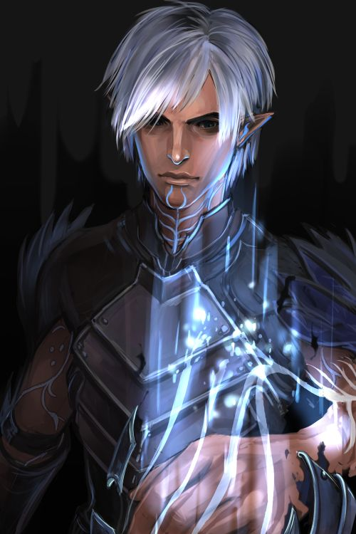 I kinda have a thing for Fenris, he was my favorite character before it was cool…