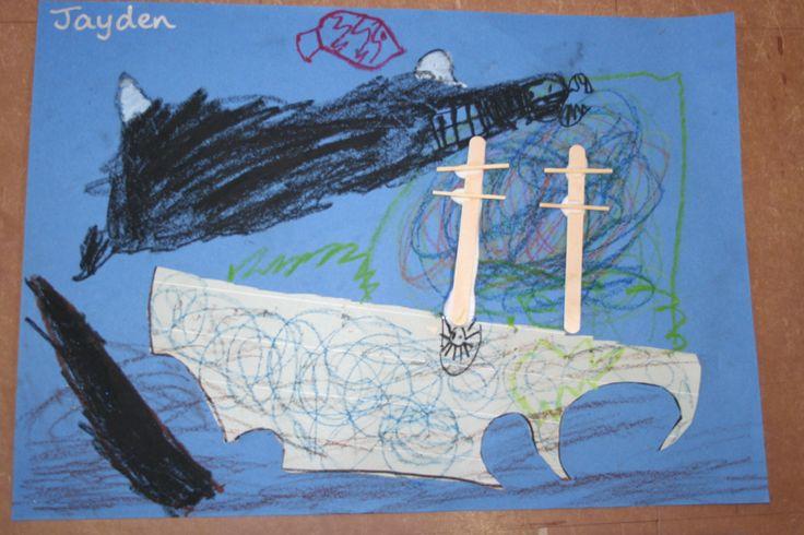 Shipwreck Art Preschool