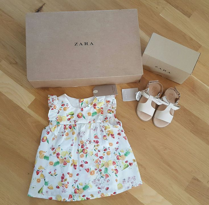 Zara Fruit T-shirt and Leather Sandals 2016 collection