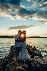 wedding photos at the Margate Resort a New Hampshire wedding venue