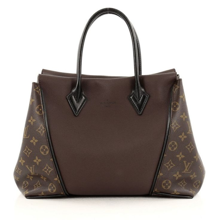 Louis Vuitton W Tote Monogram Canvas and Leather PM                                                                                                                                                                                 More
