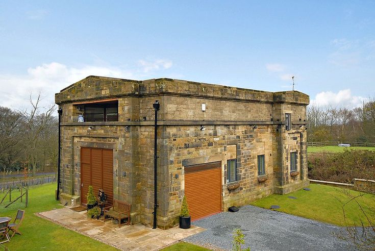 1848 Water Pumping Station Conversion in YorkshireOld Buildings, Pump House, Contemporary Interiors Design, Cozy Home, Pump Stations, Modern Interiors, Modern Home, Modern House, Water Pump