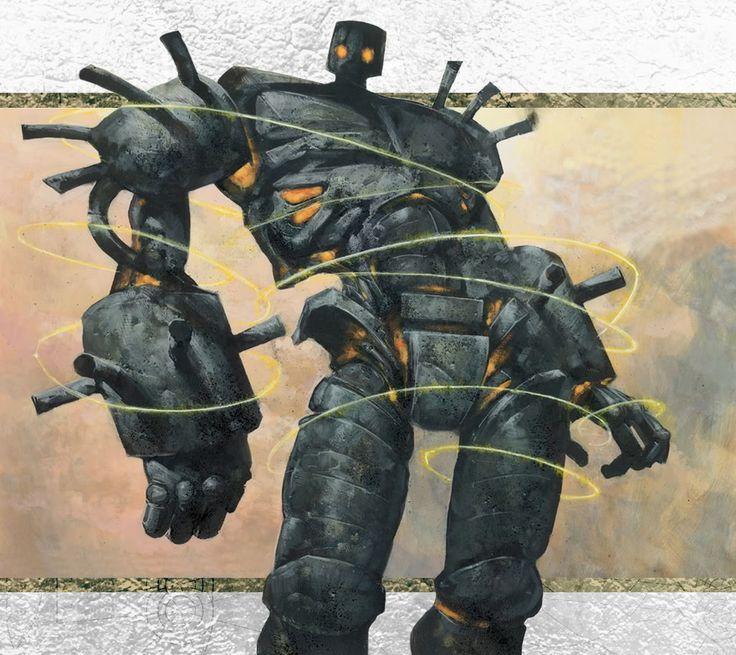 Darksteel Colossus Carl Critchlow
