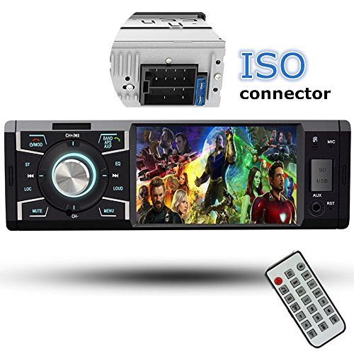 Car Stereo With Bluetooth , Cavogin Single Din FM Radio and MP5 Player USB / SD / AUX / FM Receiver Wireless Remote Control. For product info go to:  https://www.caraccessoriesonlinemarket.com/car-stereo-with-bluetooth-cavogin-single-din-fm-radio-and-mp5-player-usb-sd-aux-fm-receiver-wireless-remote-control/