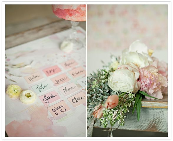 Pastel + Watercolour Theme: Baby Food Jars, Decor Ideas, Chips Escort, Paint Chips, Hardware Stores, Escort Cards, Watercolor Wedding Decor, Paintings Chips, Paintings Samples