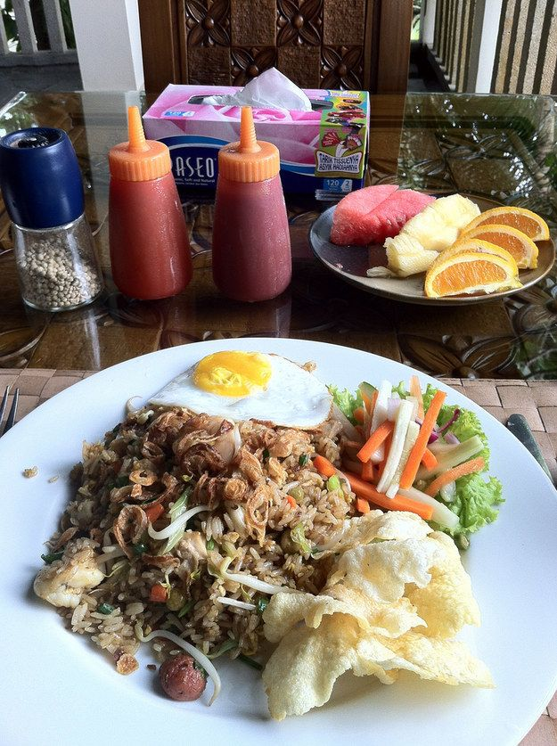 154 best breakfast around the world images on pinterest recipes in indonesia breakfast could be rice and fried fish or fried rice and a ccuart Gallery