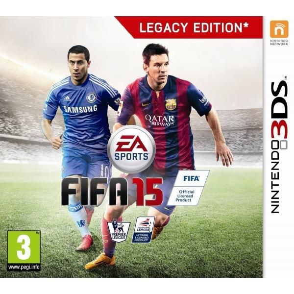 FIFA 15 3DS Game | http://gamesactions.com shares #new #latest #videogames #games for #pc #psp #ps3 #wii #xbox #nintendo #3ds