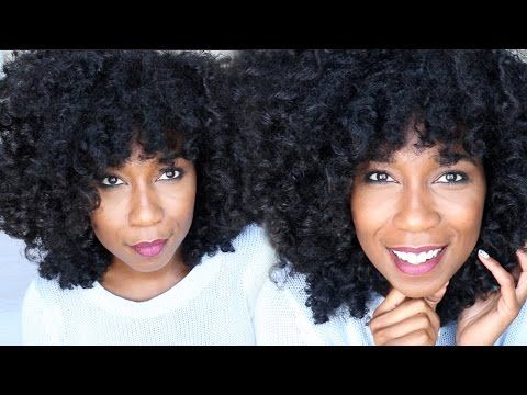 Jet Black Hair Dye UPDATE   2 Months Later... Natural Hair - YouTube