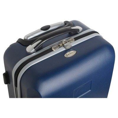 NFL New York Jets Mojo Carry-On Hardcase Spinner Luggage - Navy