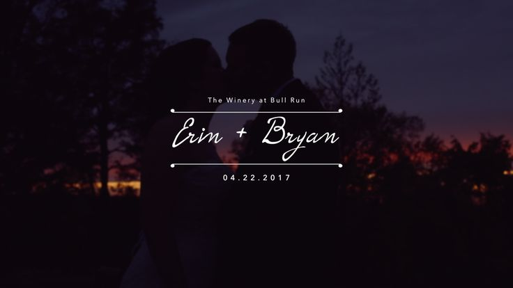 Erin + Bryan | The Winery at Bull Run Wedding | DMV Wedding Photography and Videography