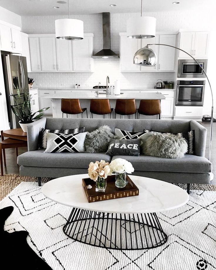 Living Room Inspo Monochromatic And Neutrals With A Mid