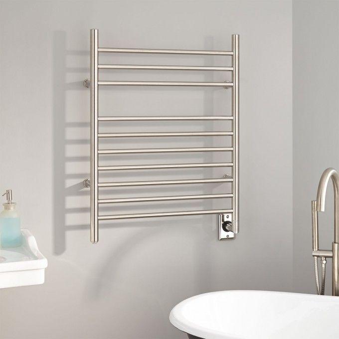 Die besten 25+ Zeitgenössische Handtuchwärmer Ideen auf Pinterest - badezimmer heizung elektrisch