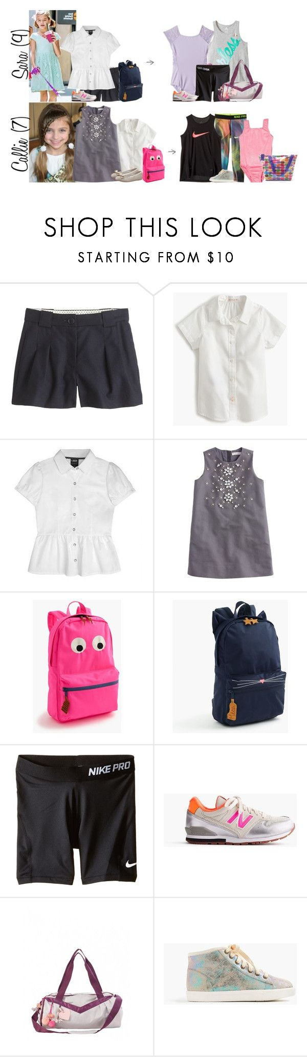 """""""Wednesday // School, Little Ones Play Date & Activities Privates // 6.7.17"""" by graywolf145 ❤ liked on Polyvore featuring J.Crew, NIKE, New Balance, Iscream and GrayWolfFamily"""
