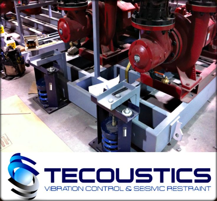 Tecoustics Ltd. carries a full range of product solutions extending from spring hangers for acoustical ceilings, to building isolation. #SeismicEngineering #NoiseAndVibrationControl http://bit.ly/tecoustic