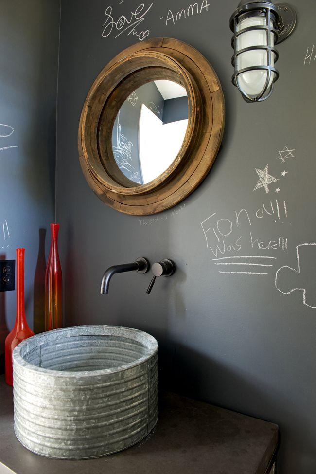 62 best style industriel salle de bain images on pinterest. Black Bedroom Furniture Sets. Home Design Ideas