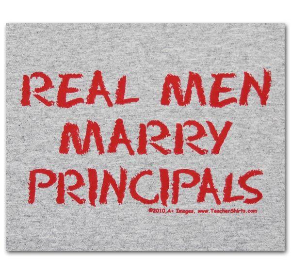 Real Men Marry ... Kafele Principal