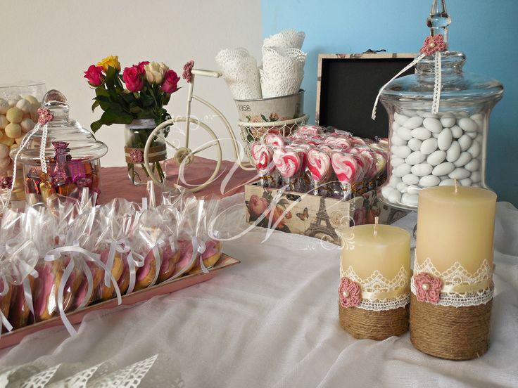 Τραπέζι γλυκών βάπτισης - Baptism dessert table