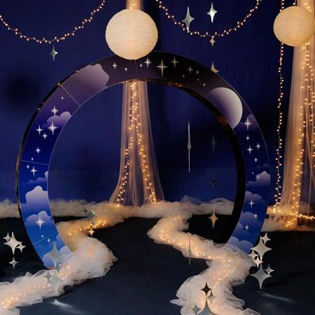 Our Night Sky Arch Kit-Prom Decorations A Night Under the Stars