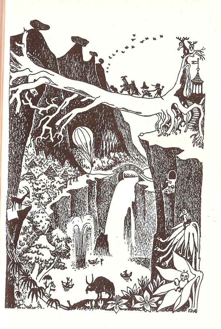 """The King's Garden Party --""""The Exploits of Moominpappa"""", by Tove Jansson (1950)"""