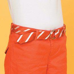 #fashion #tie #belt #diy #craft #orange #hipster