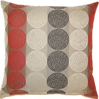 @Overstock.com - Kenzo Rocket 17-inch Throw Pillows (Set of 2) - Give your living space a new look instantly with this decorative dotted throw pillow. It features rows of beautiful circles against bold stripes for a modern look. The simple knife edge gives the pillows a slightly traditional appeal.  http://www.overstock.com/Home-Garden/Kenzo-Rocket-17-inch-Throw-Pillows-Set-of-2/7604446/product.html?CID=214117 $55.99