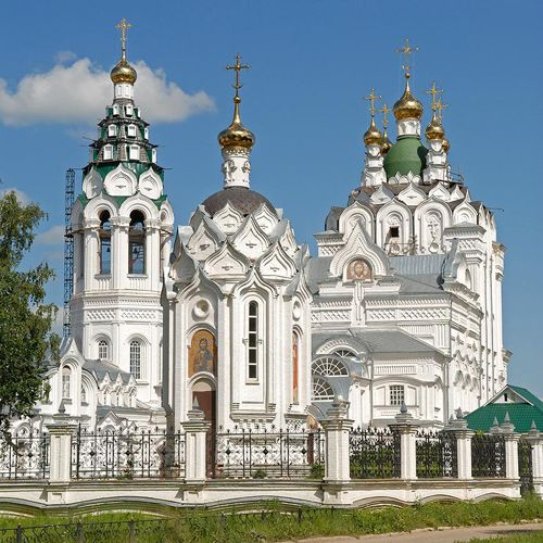 Church of the Holy Trinity - Church of the Holy Trinity. Yoshkar-Ola. Built in 1736, Russia