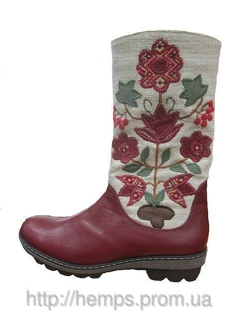 Дизайнерская обувь. Сапоги женские зимние «Флоаре», фото 1
