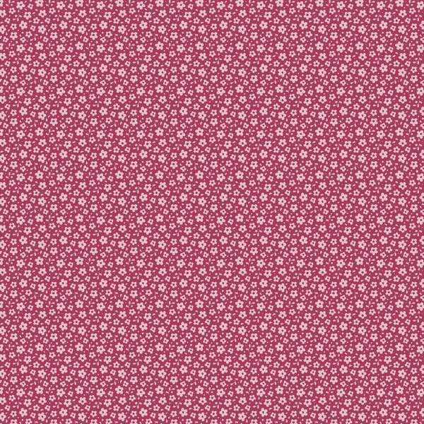 Tilda Sweetheart Fat Quarter Fabric - Ilse - Carmine Red