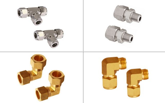 Brass Stainless Steel Tube Fittings #BrassTubeFittings  #StainlessSteelTubeFittings