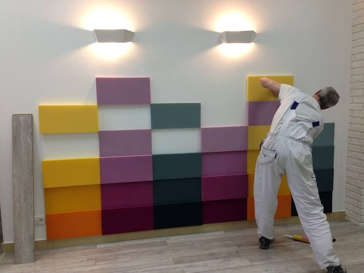 Fluffo Line - soft, acoustic wall panels