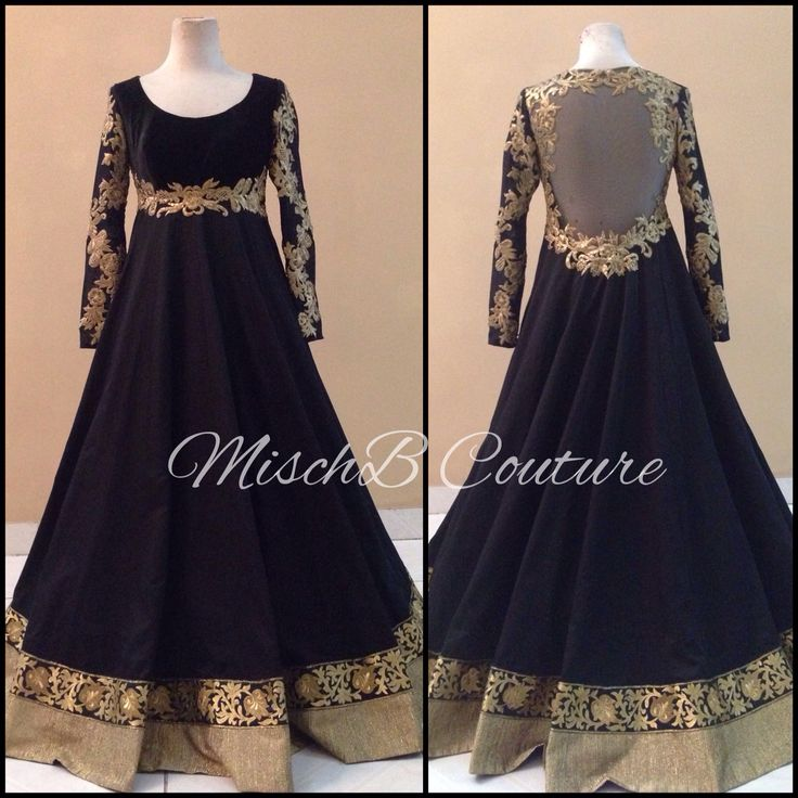 Classic anarkali by MischB Couture, bollywood fashion, indian couture