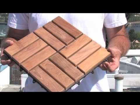 Die 25+ Besten Ideen Zu Holzfliesen Verlegen Auf Pinterest ... Auf Dem Balkon Holzfliesen Verlegen