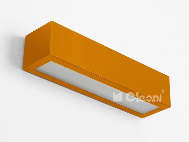 Lampy młodzieżowe Cleoni  Nekla 70 Kinkiet - Cleoni - kinkiet nowoczesny    #design #teen #lamp #Abanet.pl #Cleoni  IC102f 1152K4