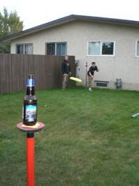 Beersbee. An interesting game!!