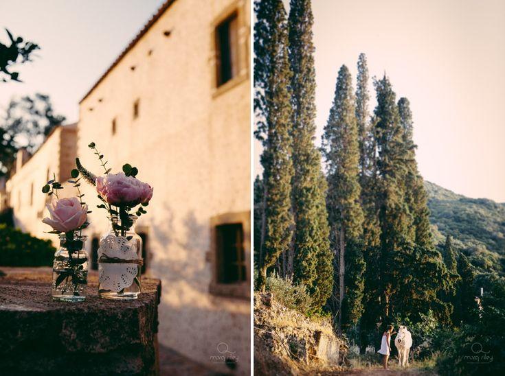 Vintage Veil Wedding @ Kinsterna Boutique Hotel | Monemvasia
