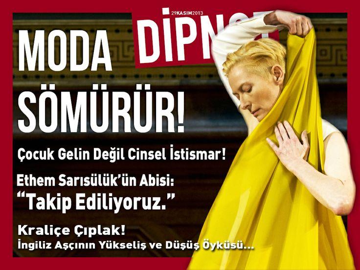 """""""Moda Sömürür"""" kapağıyla Dipnot Tablet'in 141. sayısı çıktı!"""
