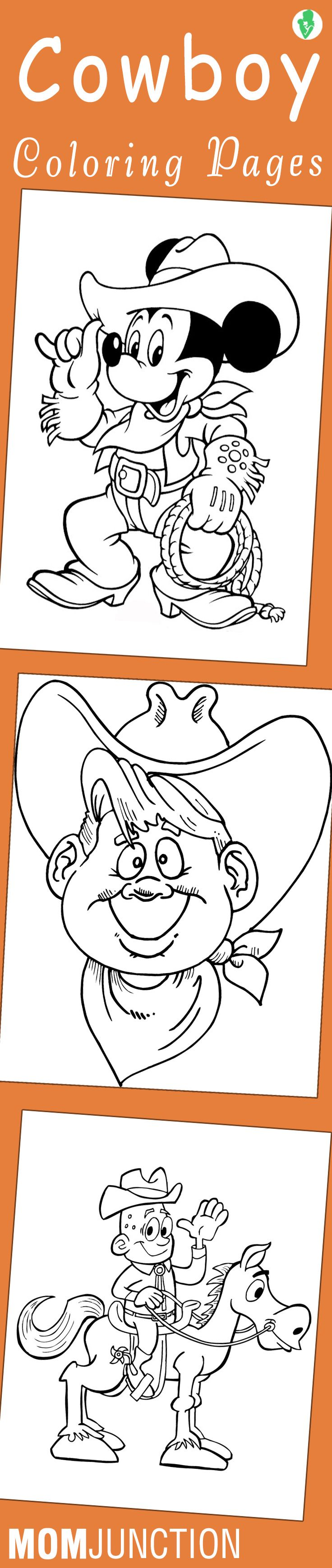 Co co coloring pages of a cowgirl - Top 25 Free Printabe Cowboy Coloring Pages Online