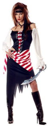 California Costume Women's Adult-Ruby, The Pirate Beauty   California Costumes $14.89 - $32.99