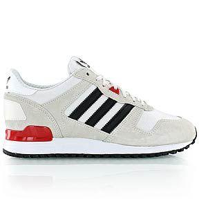 adidas - WMNS ZX 700 - Running - white/black/red - KICKZ.