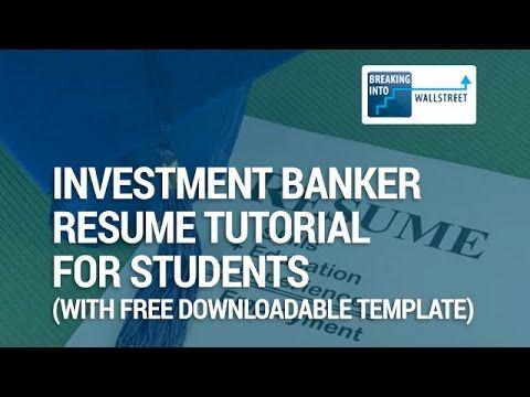 Die besten 25+ Investment bank Ideen auf Pinterest Mode - universal banker resume