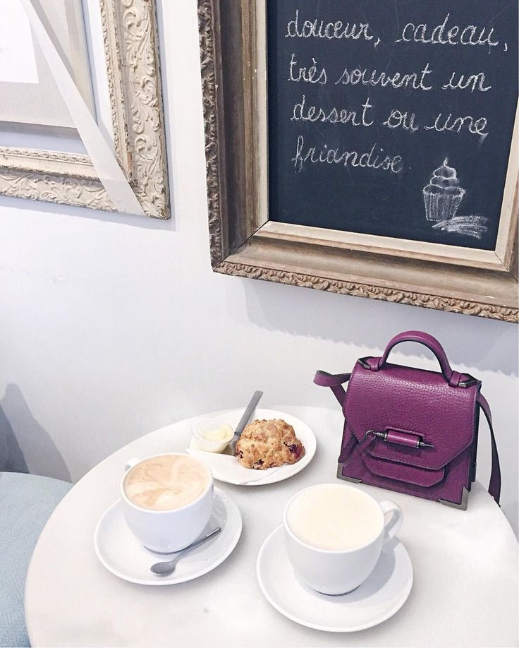 Handbags and Lattes / Coffee Shop Instagram Photo via Lifestyle Blogger @asideofvogue