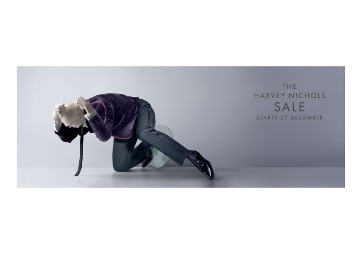 A great campaign developed by DDB London for the Harvey Nichols stores