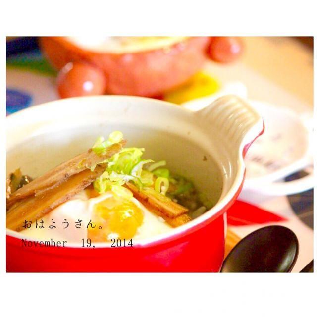 ごぼうをスープで煮て、卵を落とした雑炊にしました(^ ^) - 39件のもぐもぐ - ごぼうスープの卵おじや by yasuko691