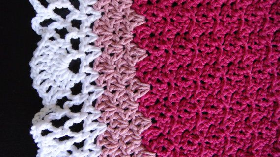 Check out this item in my Etsy shop https://www.etsy.com/listing/196236720/crochet-baby-blanket-afghan-crochet