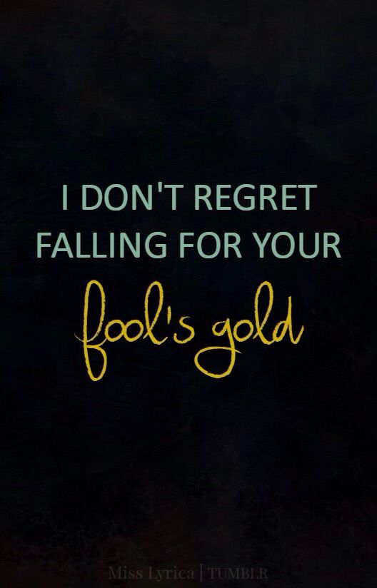 One Direction — Fool's Gold