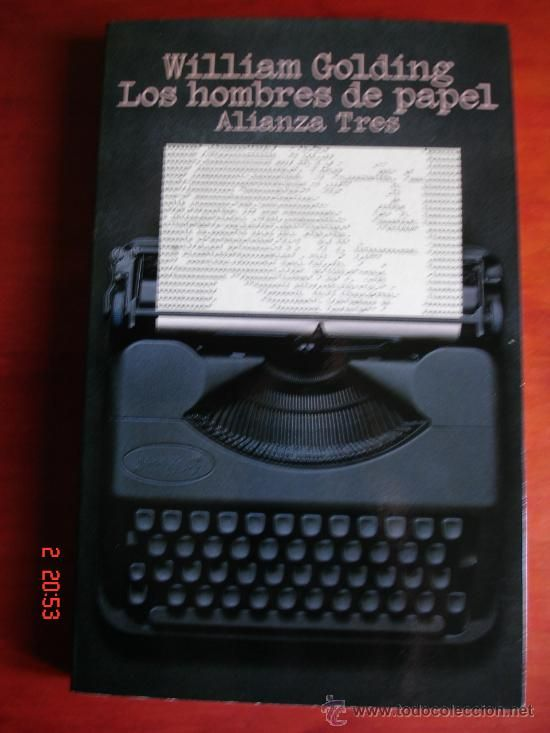 LOS HOMBRES DE PAPEL - WILLIAM GOLDING - ALIANZA EDITORIAL, 1985 - PRIMERA EDICIÓN - Foto 1