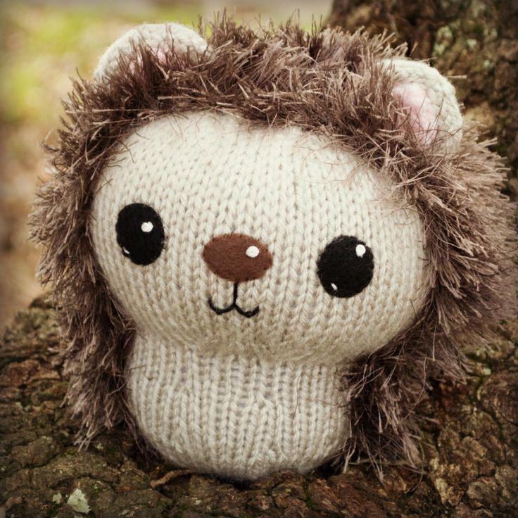 Knit Amigurumi Hedgehog Pattern, 8 inch Hedgehogs ...