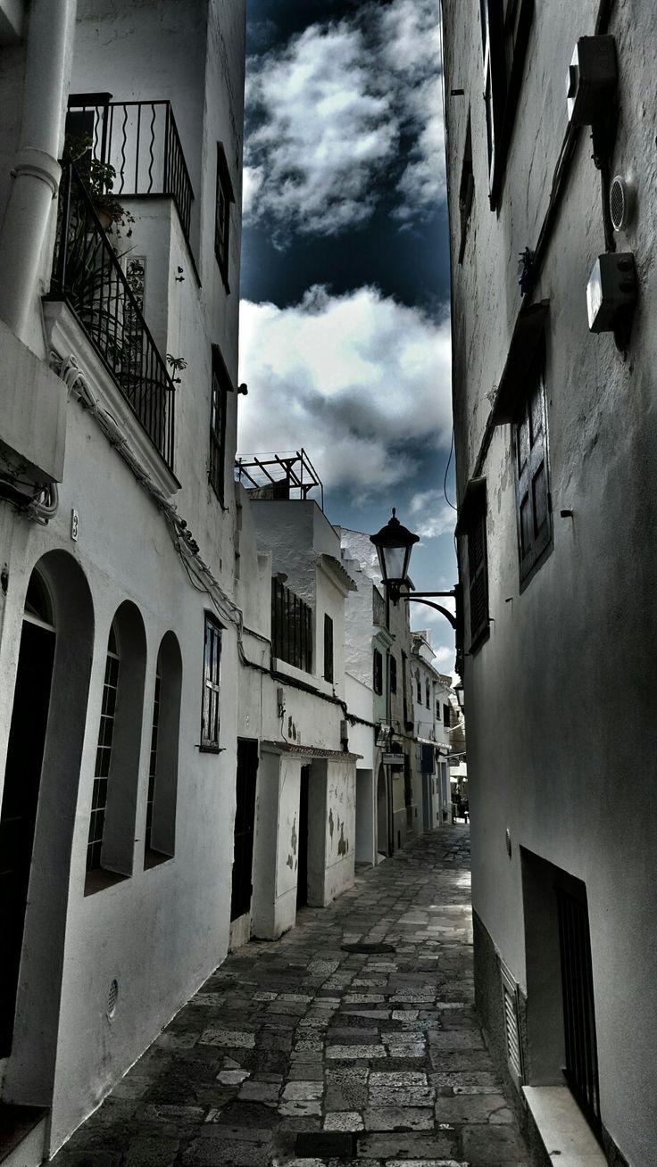 Mahon backstreets.