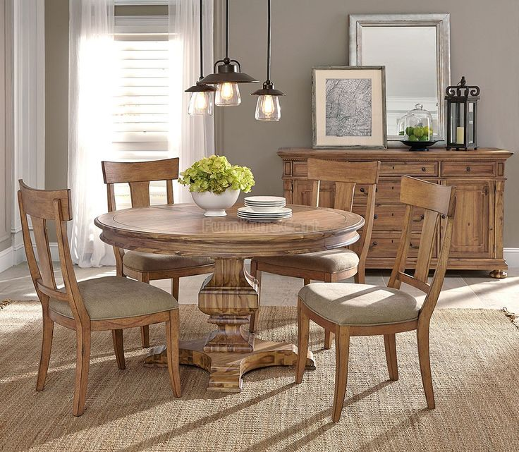 25+ best ideas about Round dining room sets on Pinterest   Round ...