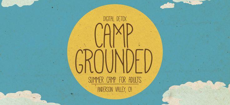 Afbeeldingsresultaat voor camp grounded; summer camp for adults